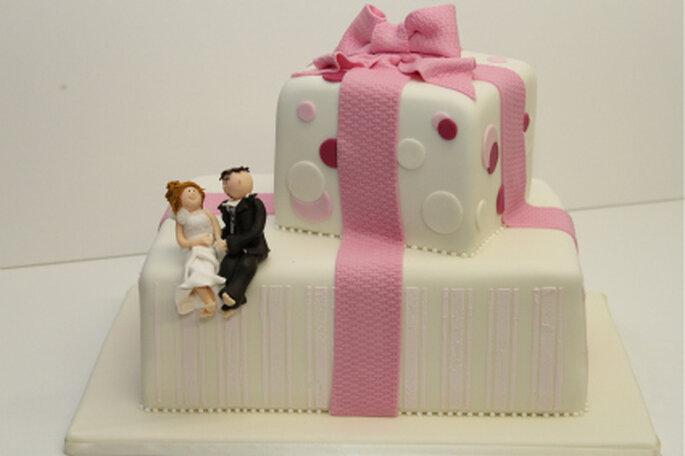 Hochzeitstorte von www.suess-und-salzig.de
