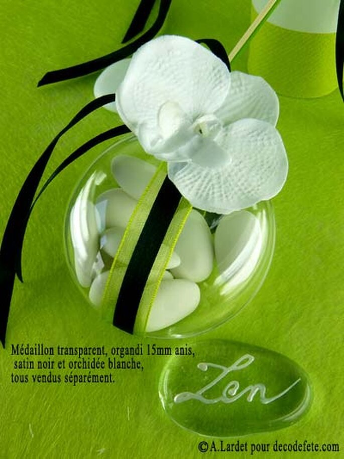 Décoration de mariage champêtre, zen attitude garantie ! - Source : decodefete.com