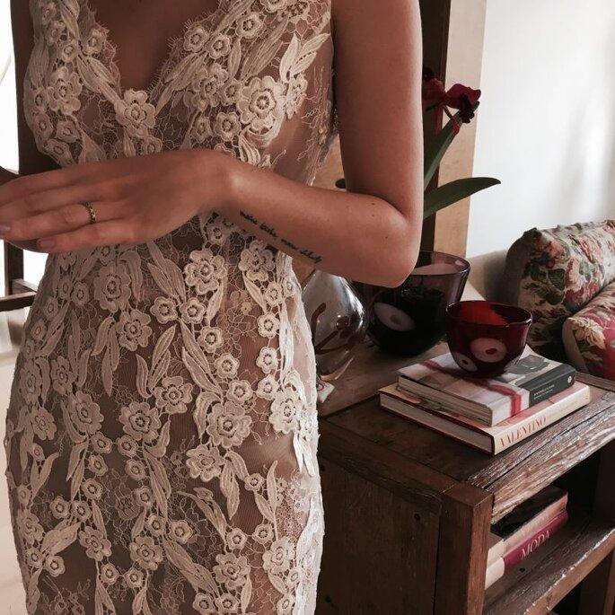 Modernos, românticos, vestidos originais