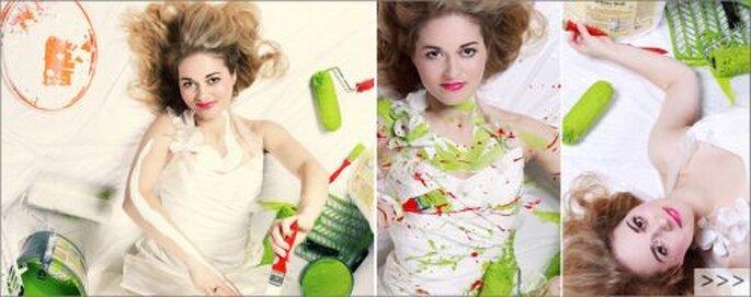 Trash the Dress Aufnahmen für die Braut! Foto: (c) Copyright Claudia Gallwitz - http://claudia-gallwitz.de