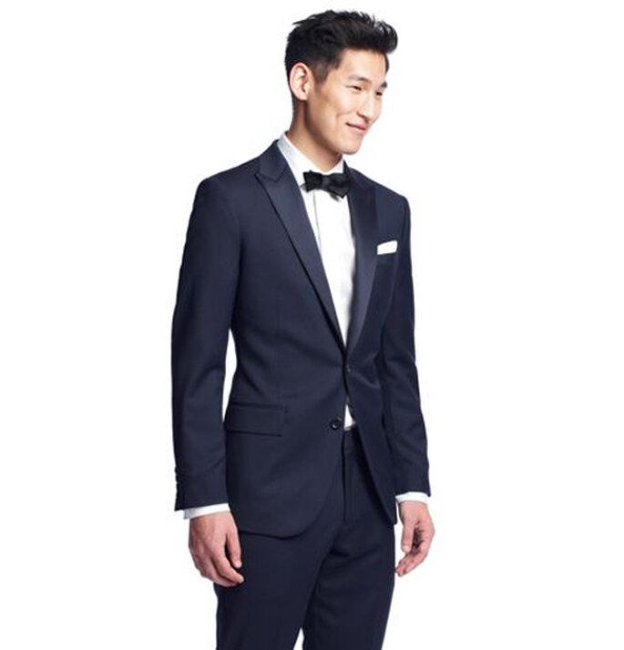 Estilo clásico para el novio en bodas del 2013 - Foto JCrew
