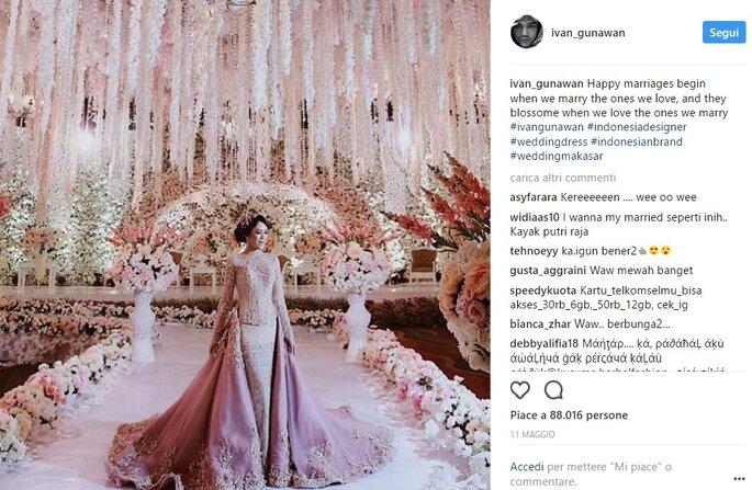 618b65a8306b Gli abiti da sposa con più like su Instagram