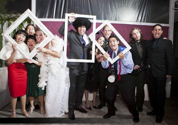 Fotos para recordar los momentos de la boda. Foto: Andrea Paccini