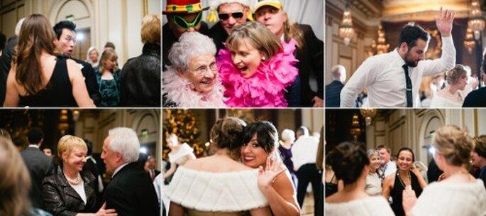 Tu boda es para celebrar y compartir. Foto Alexandra Roberts