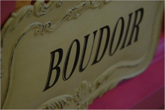 La palabra Boudoir significa femineidad