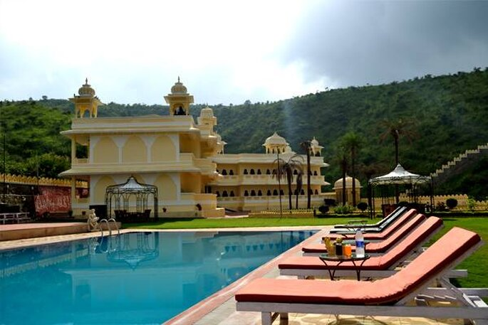 Photo: Labh Garh Resort.