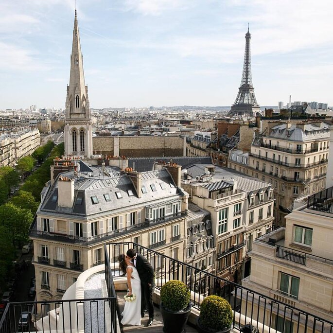 destination wedding em Paris