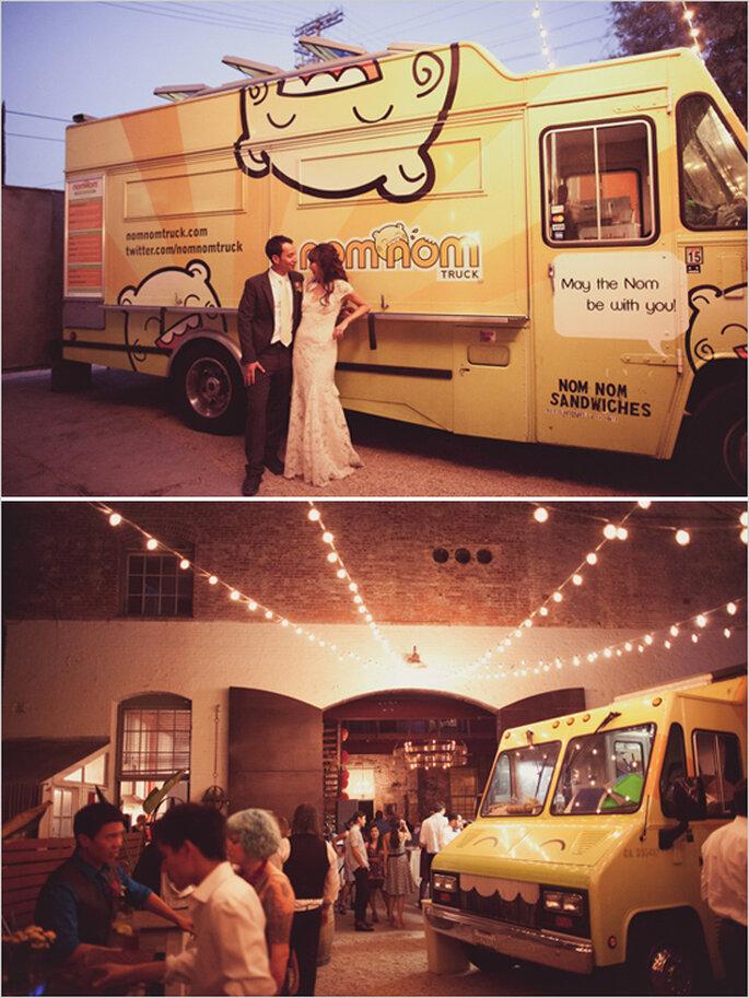Food truck en tu banquete de boda - Foto Wildflowers Photography