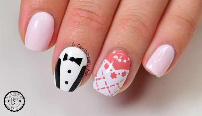Stemple ślubne autorstwa B for beautiful nails