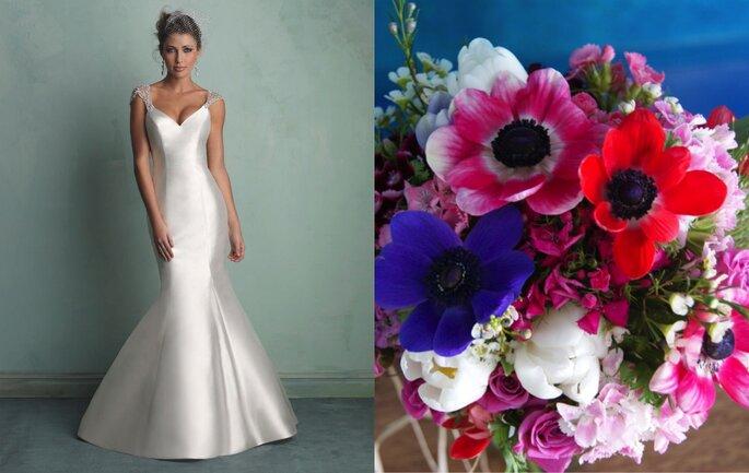 Foto: Vestido Maison Veridiane Noivas & buquê L'Atelier de las Flores