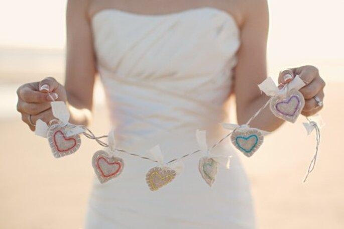 Decoración hecha por ti misma para una boda vintage - Foto Stephanie Williams