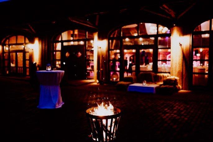 Feuerstelle Location Hochzeit