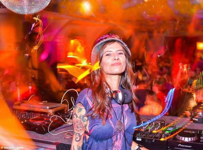 DJ: Carol Rosa / allbands - Foto: Leandro Godoi.