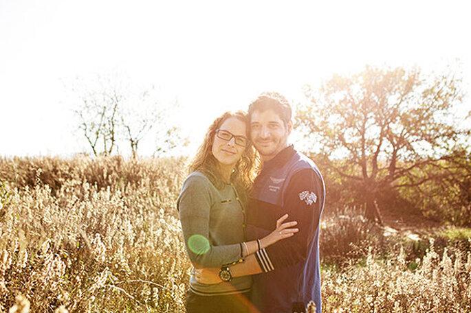 Las fotos pre-boda hacen las veces de 'ensayo' antes de la boda. Foto: Carolina Sáinz