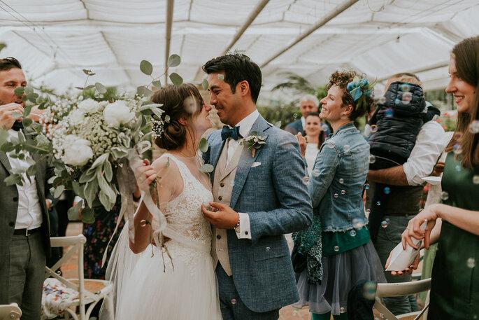 Tiny Wedding im Boho Stil Alte Gärtnerei München freie Trauung