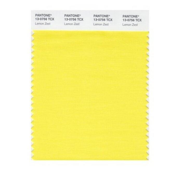 color limón cítrico - Foto Pantone