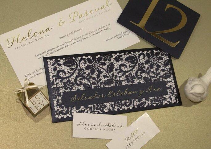 A mano - Invitaciones de boda