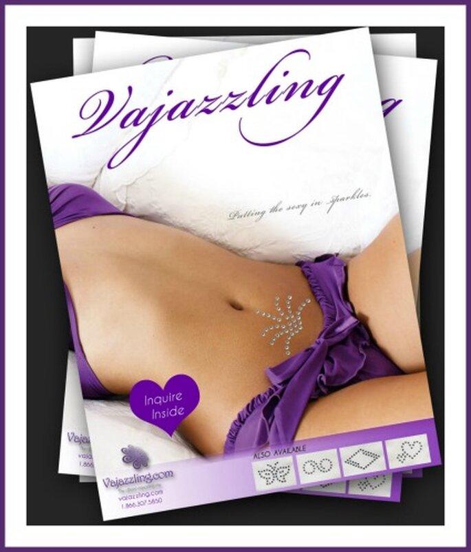 Immagine promozionale dal sito Vajazzling.com