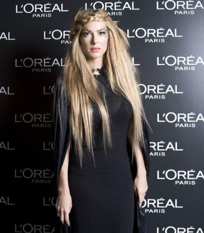 Kira Miró con extensiones de cabello