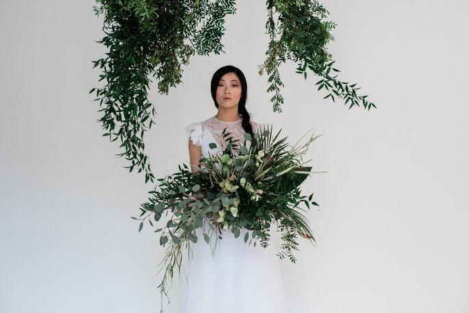 Agnese Spina Imagery - sposa con piante