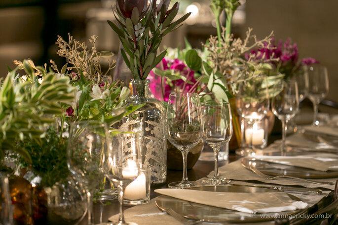 mesa posta de casamento