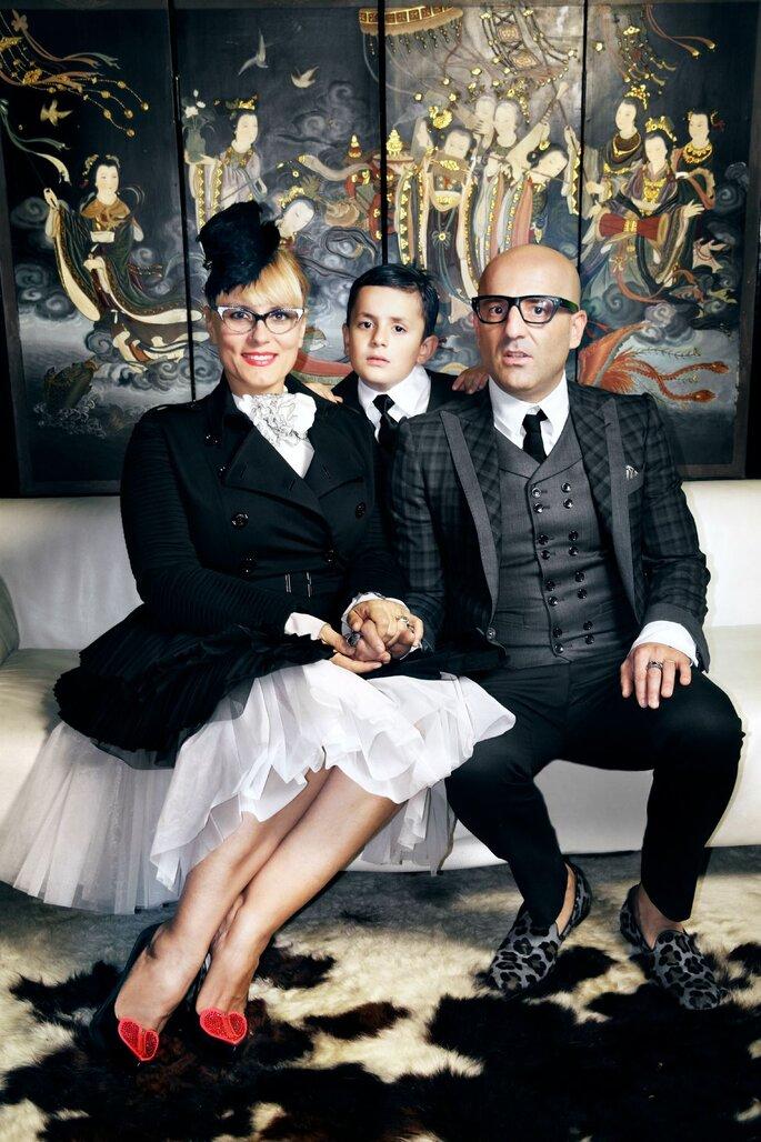Roberta, Antonio e il piccolo Mario