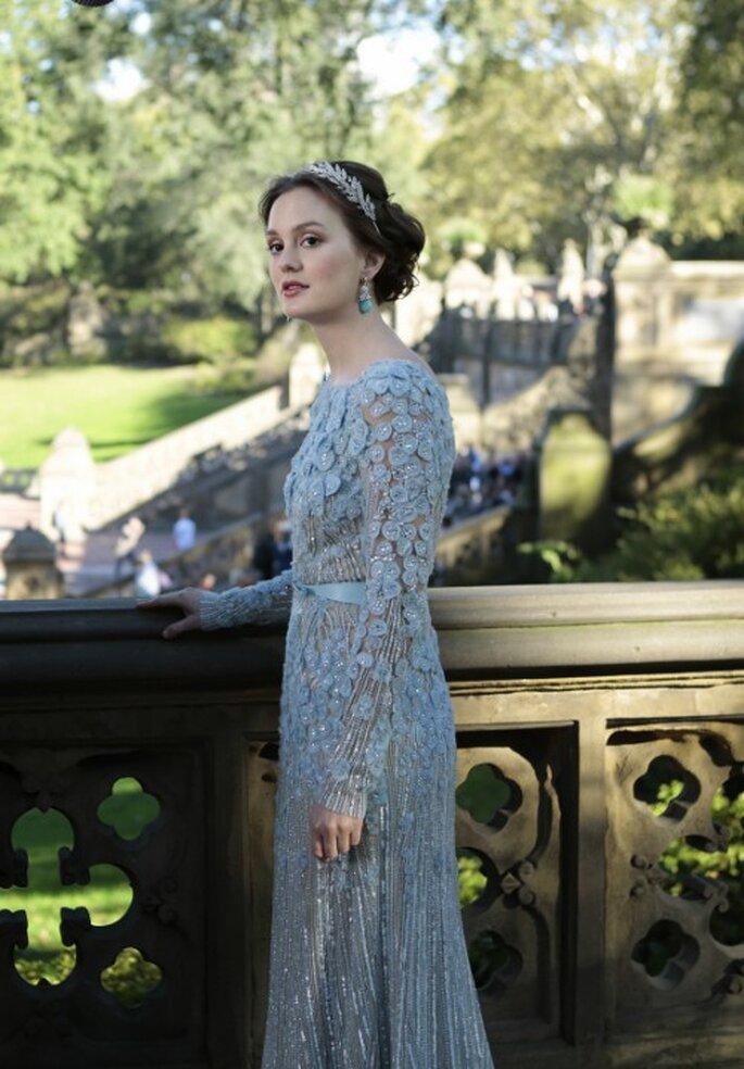 """Look de novia para invierno inspirado en Blair Waldorf de """"Gossip Girl"""" - Foto The CW"""