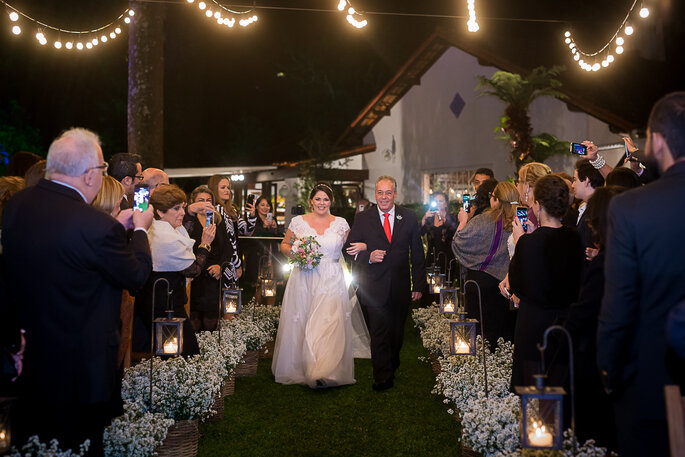 velas na decoração do casamento