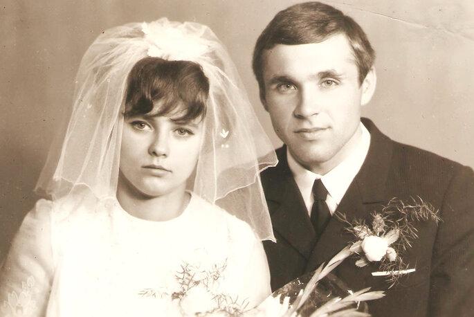 Retrato de recién casados. Foto: AnnaKostyuk
