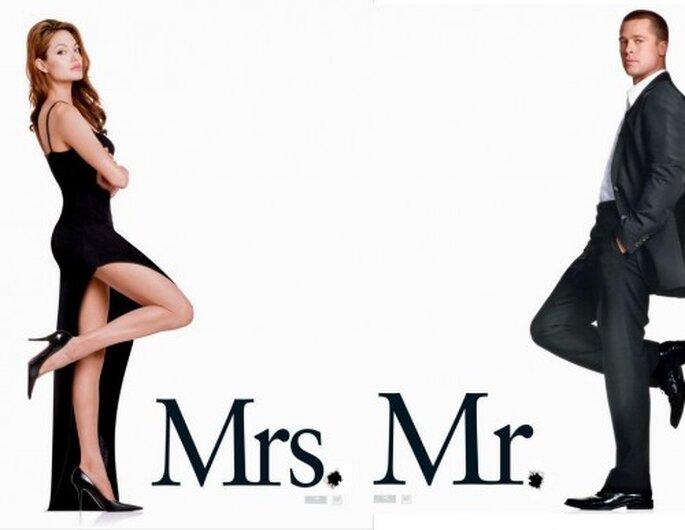 Señor y señora Smith (2005).