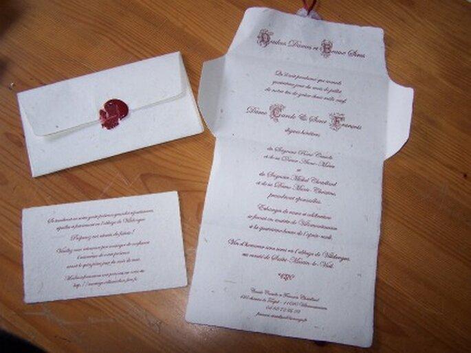 Faire-part de mariage bio, écolo ou vert