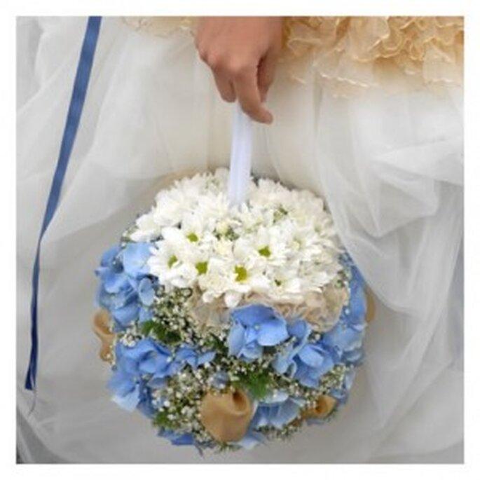 bouquet borsetta a palla
