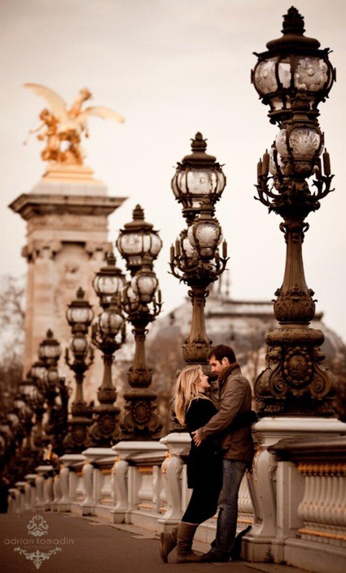 Pre-boda en París - Adrián Tomadín