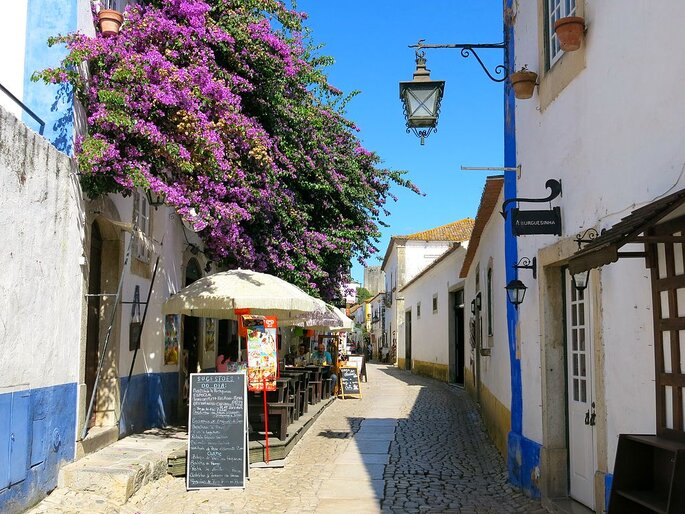 A vila de Óbidos. Foto: Kyle Taylor / Wikimedia