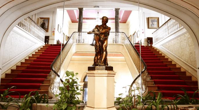Interior do Palácio Ateneu Comercial - Porto