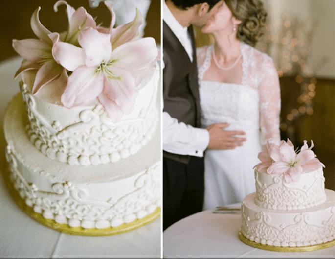 Trends für Hochzeitstorten 2013 - Foto: Amy Majors Photography
