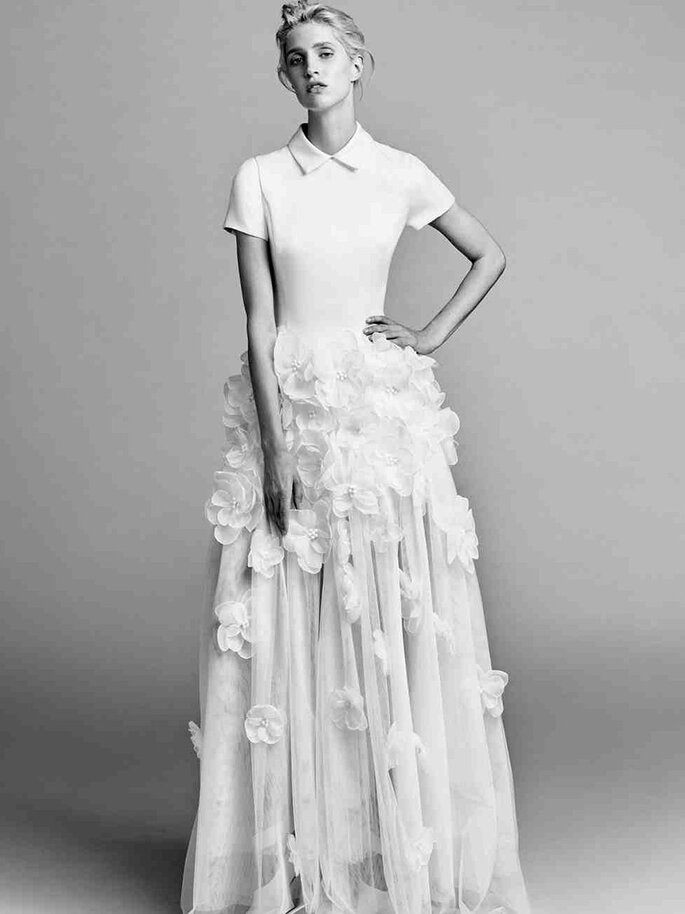 Vestido de noiva Viktor and Rolf NY Bridal Week-Outono 2017