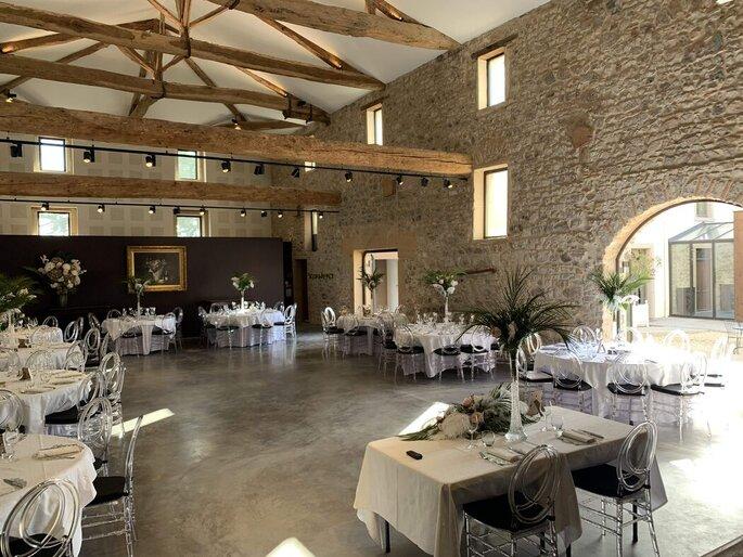 Salle de réception du Château du Souzy