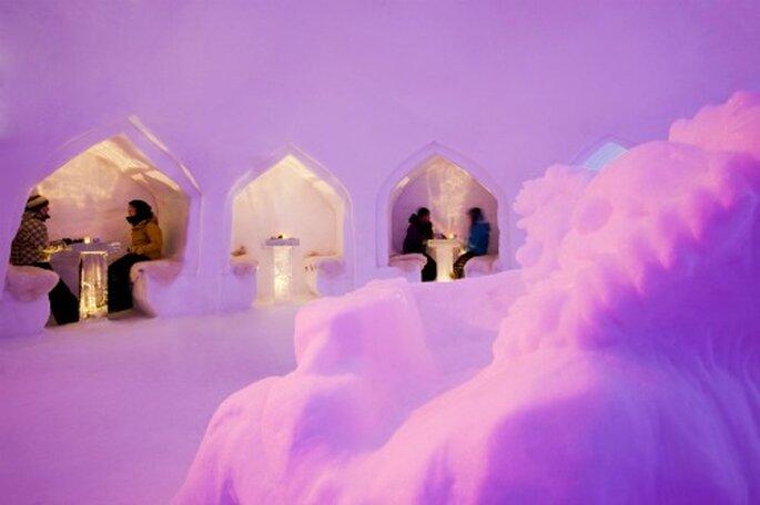 Romantik pur bei der Übernachtung in der White Lounge - Foto: White Lounge