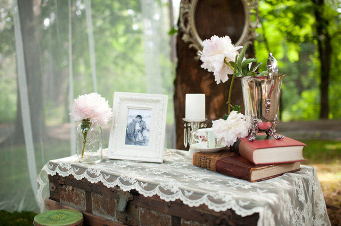 Detalles para una boda shabby chic - Acres of hope