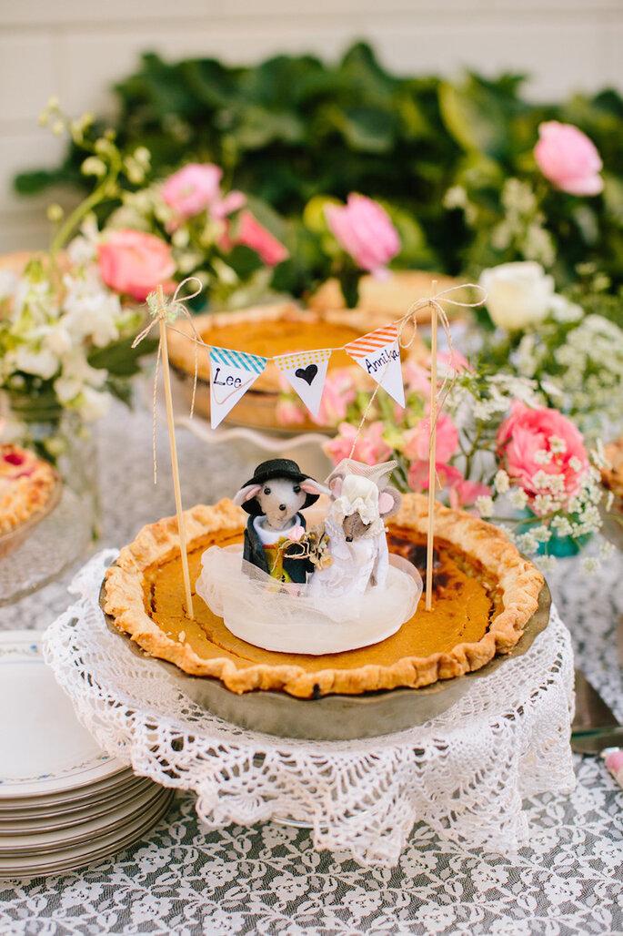 Alternativas deliciosas para el pastel de bodas - Mirelle Carmichael Photography