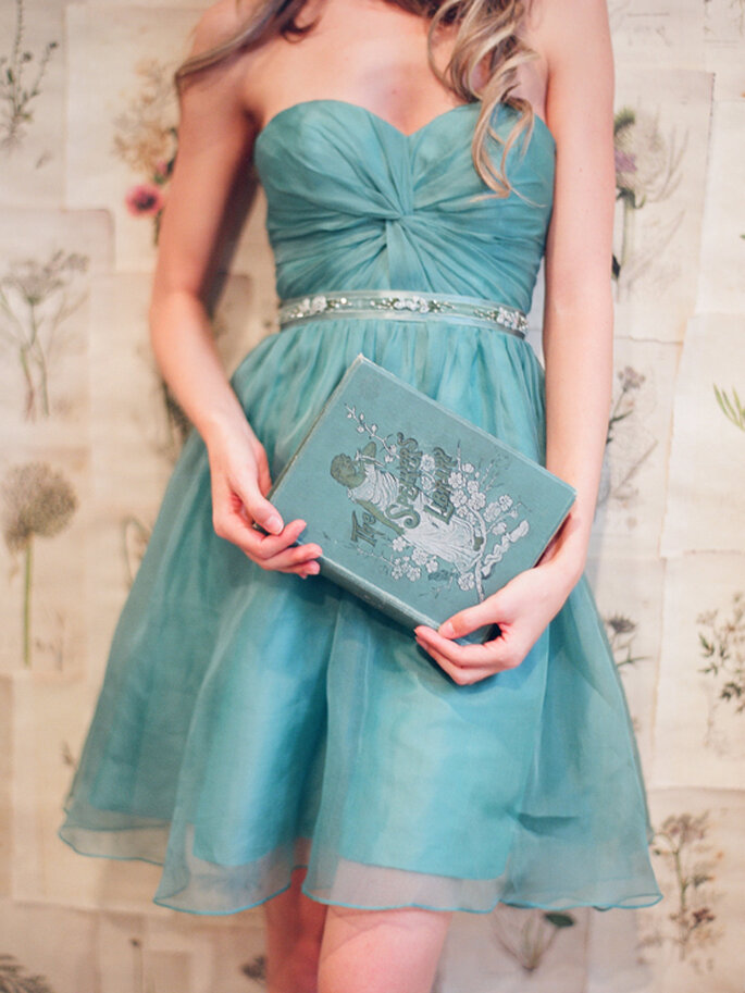 Estilismo perfecto para tu boda civil - Foto Elizabeth Messina