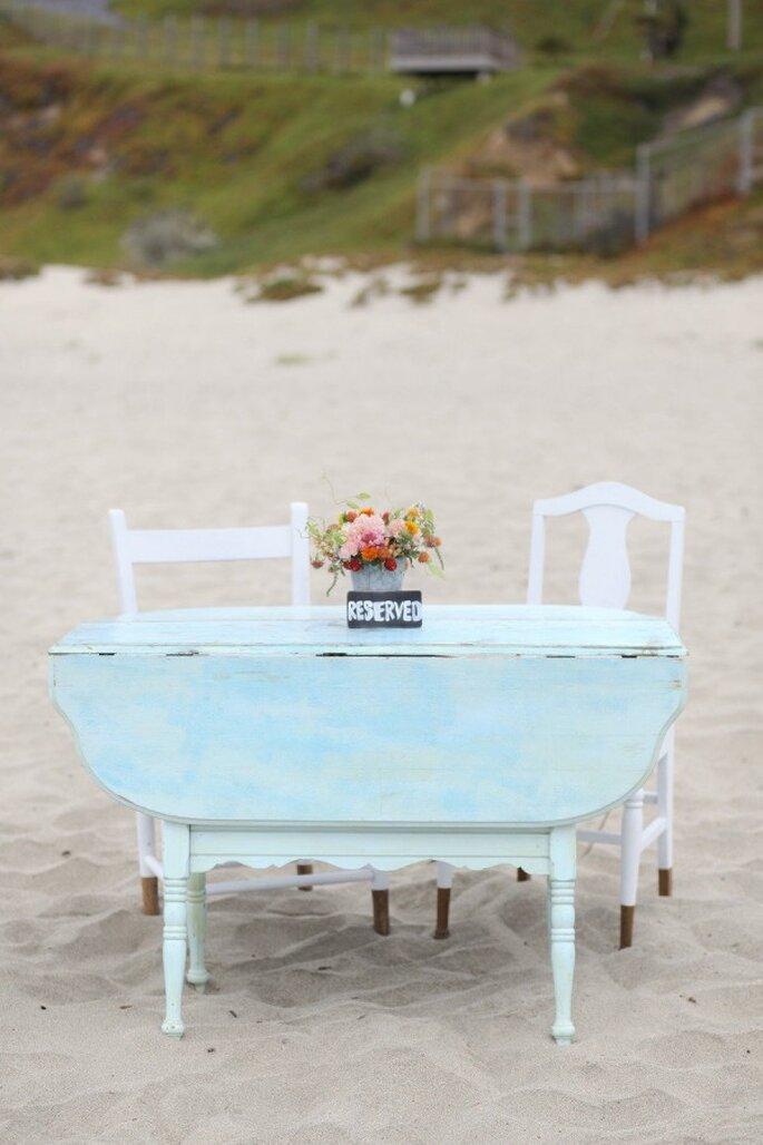 Tu boda en armonía con el mar - Foto B.Shwartz Photography