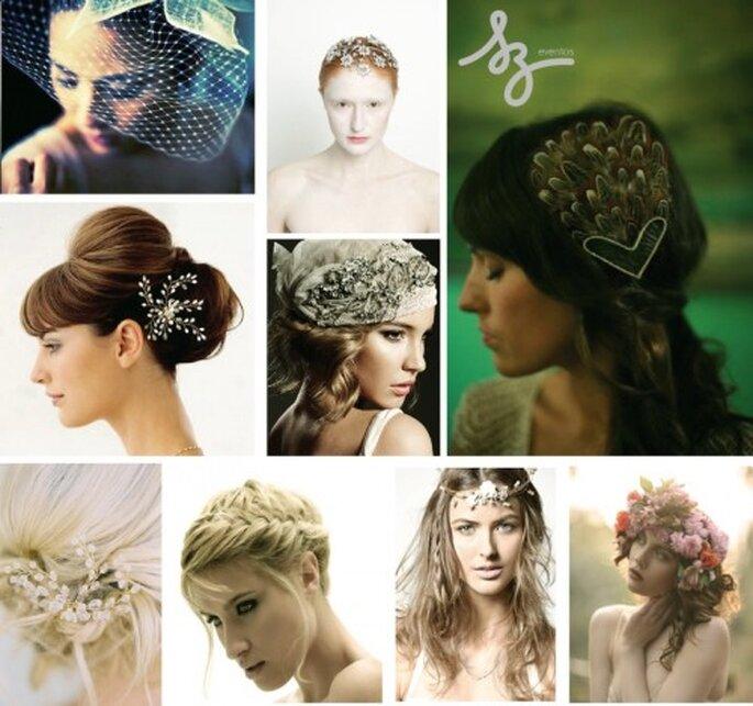 Cómo elegir tu peinado de novia. Easycutpeluquerias, Oncewed, Lvemydress