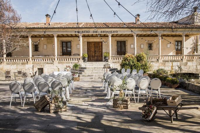 Palacio de Esquileo palacio bodas Segovia