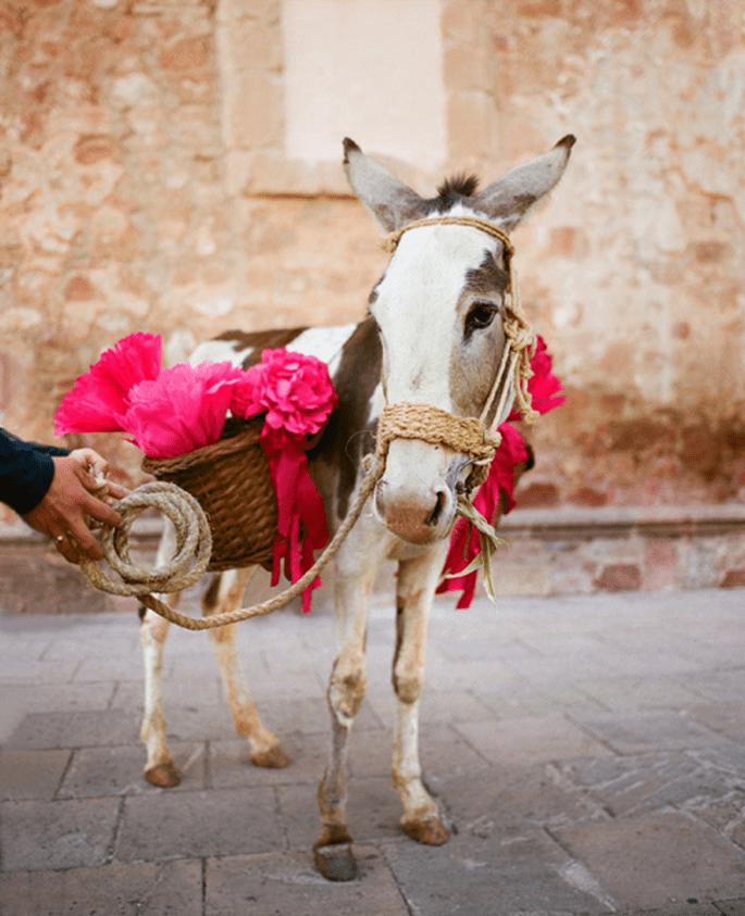 Detalles en rosa intenso con tendencia mexicana