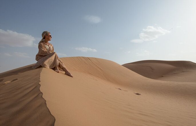 Gabriella Livia Iovino di CartOrange, in Oman