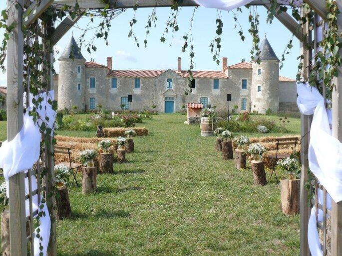 Le Château de la Chevallerie, lieu de réception en Vendée