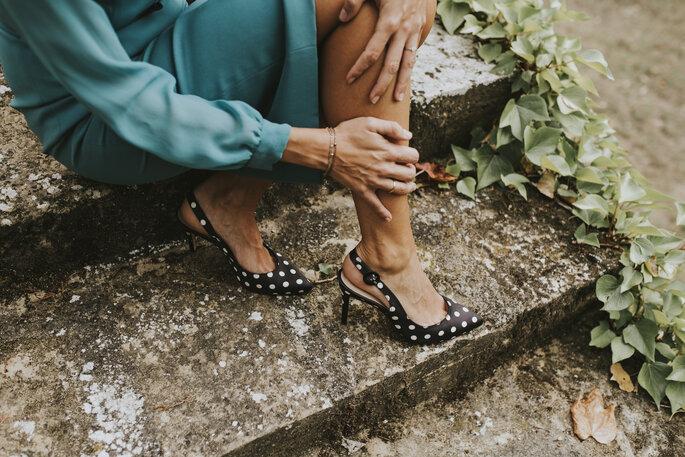 Zapatos para invitada.