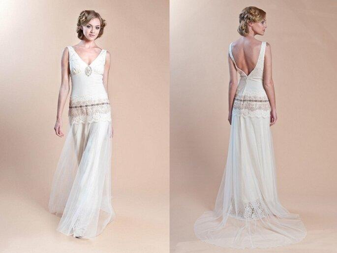 Vestido de novia Haviland de Claire Pettibone - Colección primavera 2014
